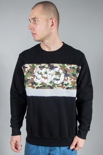 SSG CREWNECK MORO CUT BLACK