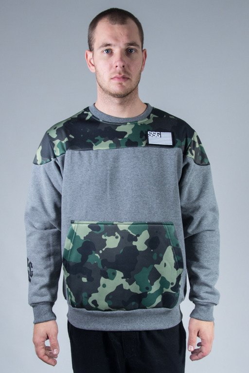 SSG CREWNECK MORO PART GREY