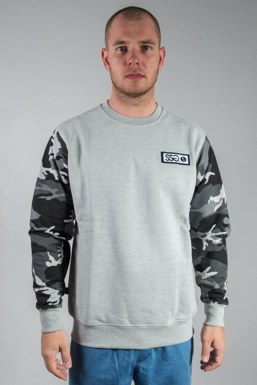 SSG CREWNECK MORO SLEEVES MEANGE LIGHT CAMO