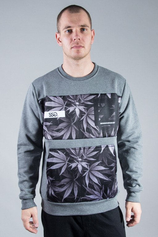 SSG CREWNECK PLANT POCKET GREY