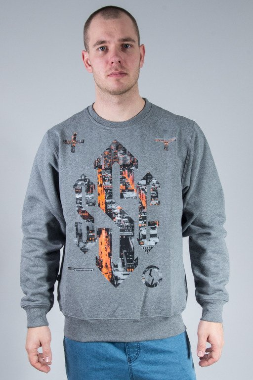 SSG CREWNECK SIGN DARK CITY GREY