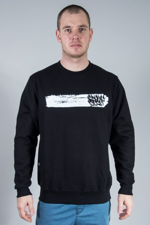 SSG CREWNECK SMOKE LINE BLACK
