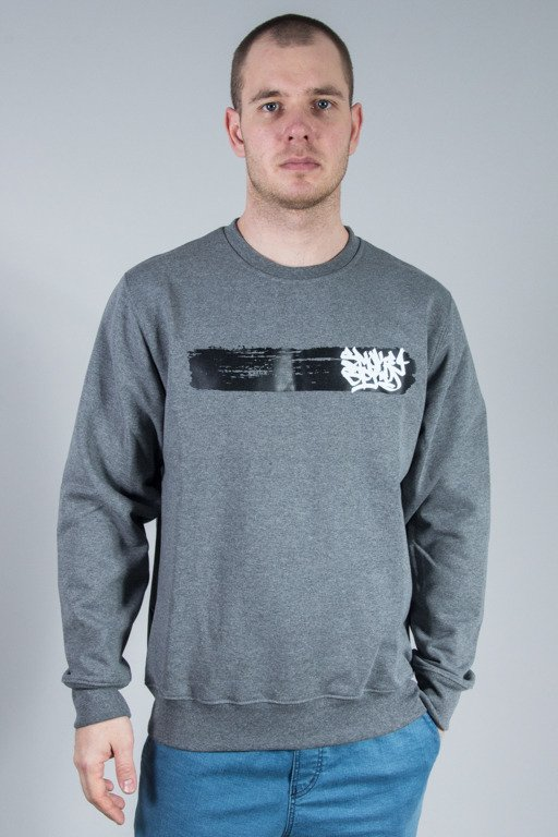 SSG CREWNECK SMOKE LINE GREY