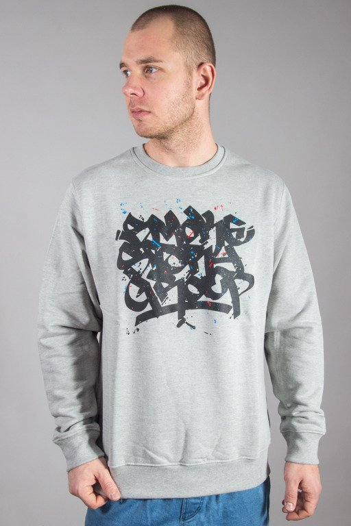 SSG CREWNECK SMOKE TAG COLORS MELANGE