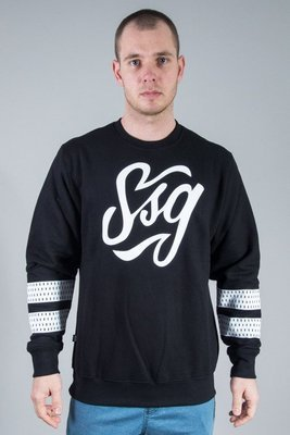 SSG CREWNECK TAG BLACK