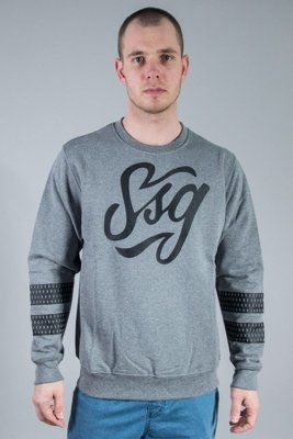 SSG CREWNECK TAG GREY