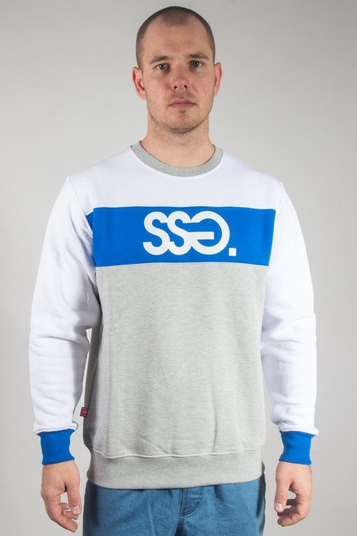 SSG CREWNECK TRIPLE COLORS WHITE