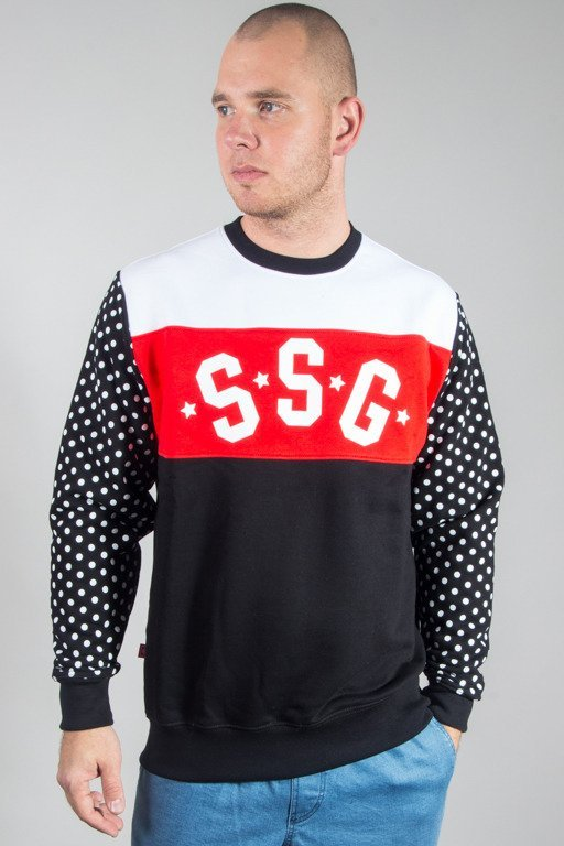 SSG CREWNECK TRIPLE DOTS BLACK