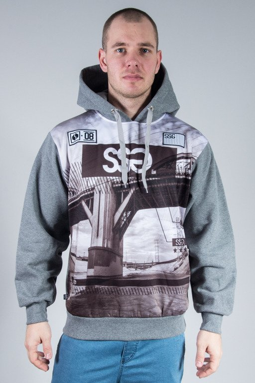 SSG HOODIE BRIDGE NEW GREY