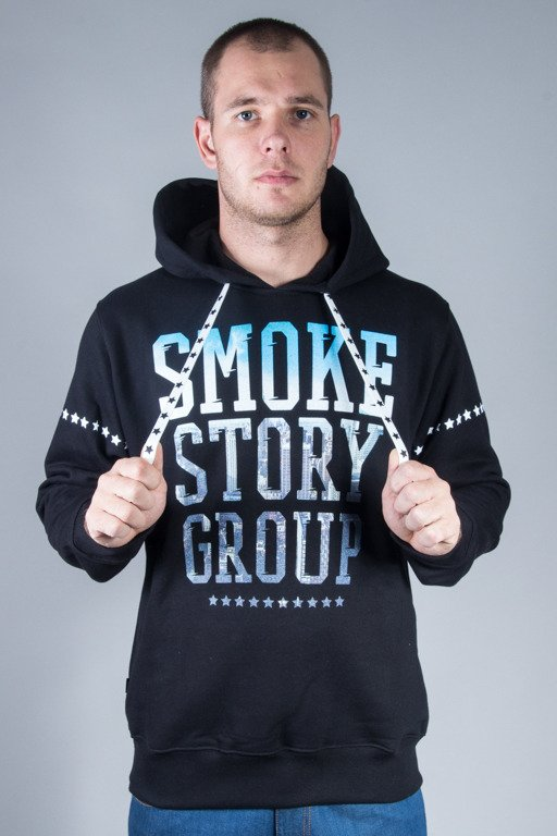 SSG HOODIE CITY PHOTO BLACK