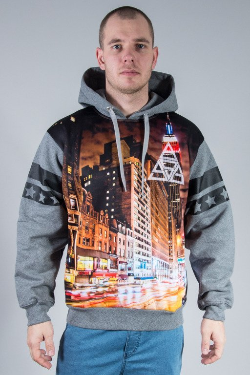 SSG HOODIE CITY TRIANGLE GREY