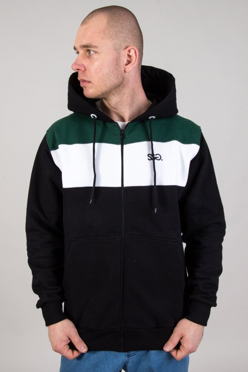 SSG HOODIE COLORS BLACK-GREEN
