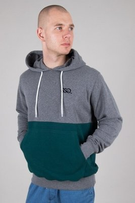SSG HOODIE LIGHT HALF GREY-GREEN