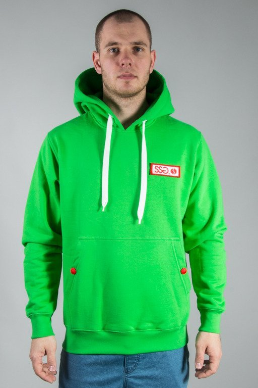 SSG HOODIE LOGO COLORS GREEN