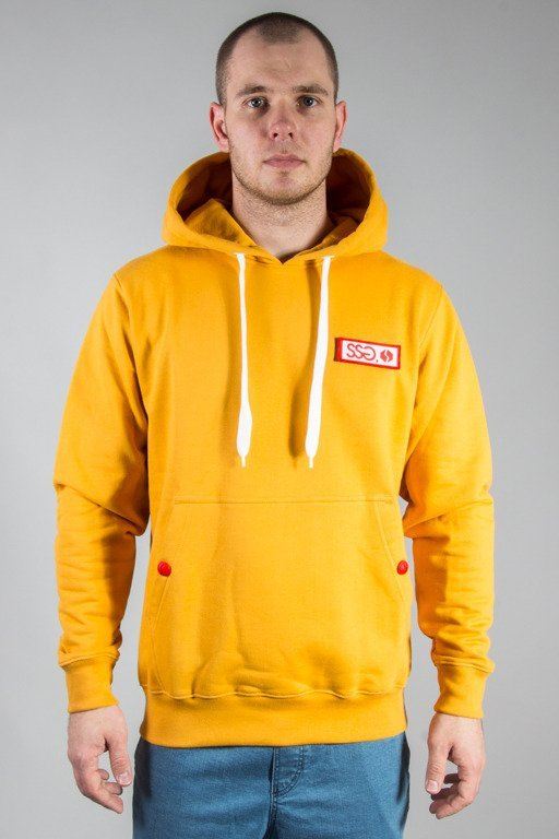 SSG HOODIE LOGO COLORS ORANGE