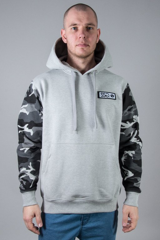 SSG HOODIE MORO SLEEVES CAMO LIGHT MELANGE
