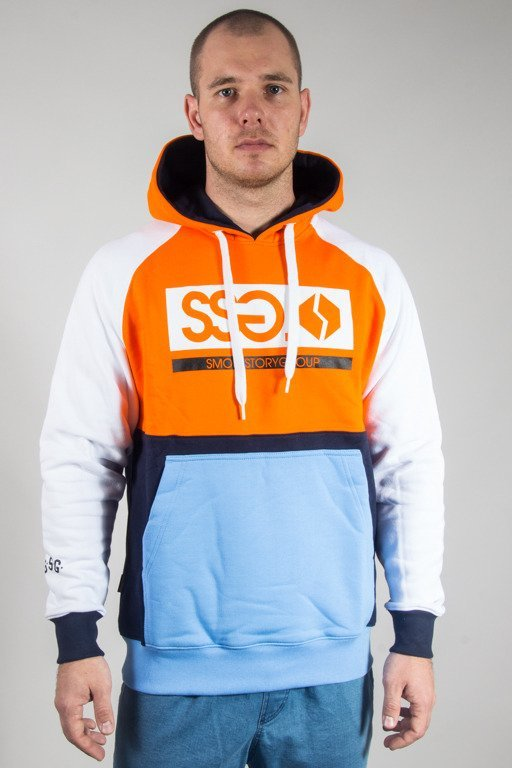 SSG HOODIE PREMIUM COLORFULL ORANGE
