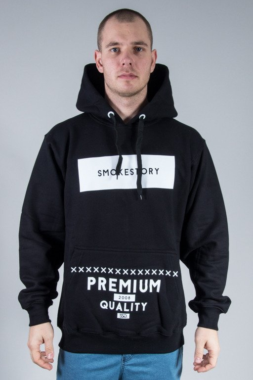 SSG HOODIE RECTANGLE BLACK