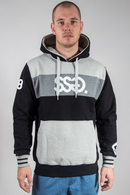 SSG HOODIE TRIPLE COLORS BLACK