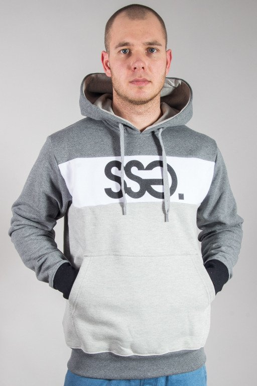 SSG HOODIE TRIPLE COLORS GREY