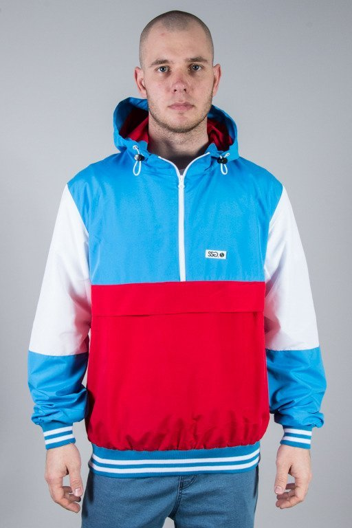 SSG JACKET COLOR BLUE-RED