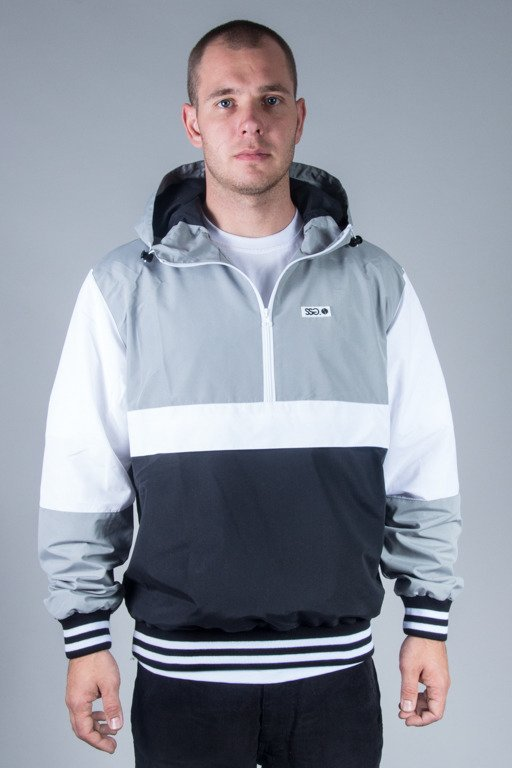 SSG JACKET WIATRÓWKA DOUBLE COLORS GREY