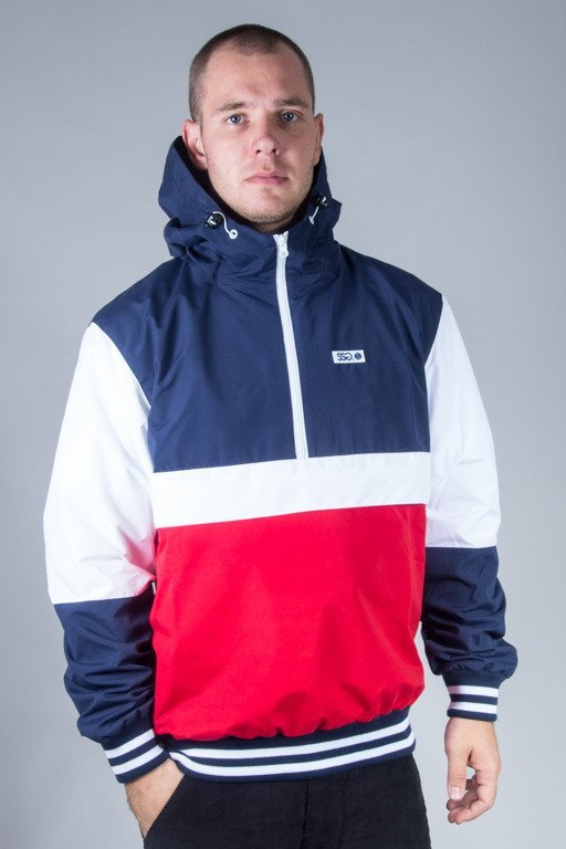 SSG JACKET WIATRÓWKA DOUBLE COLORS NAVY
