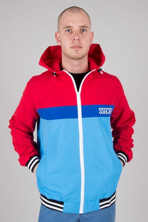 SSG JACKET ZIP COLOR BLUE-RED