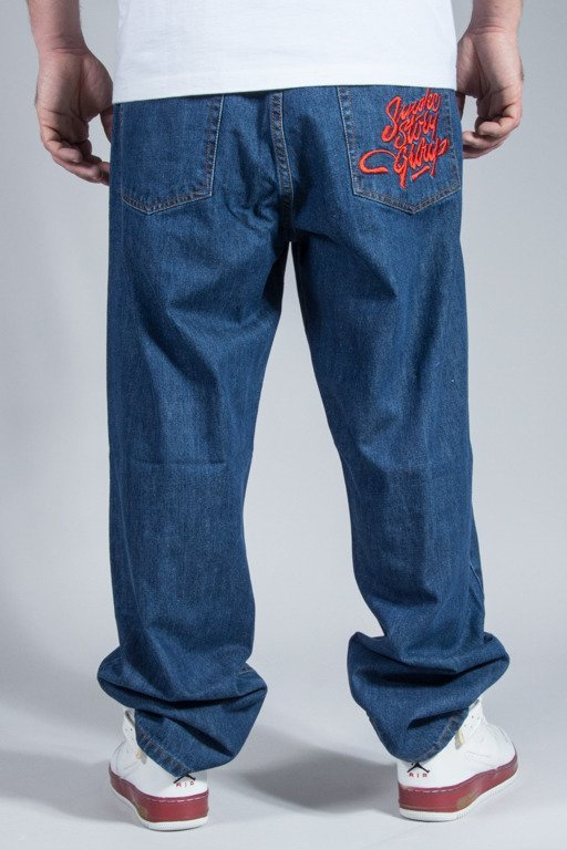 SSG JEANS BAGGY SMOKE MEDIUM
