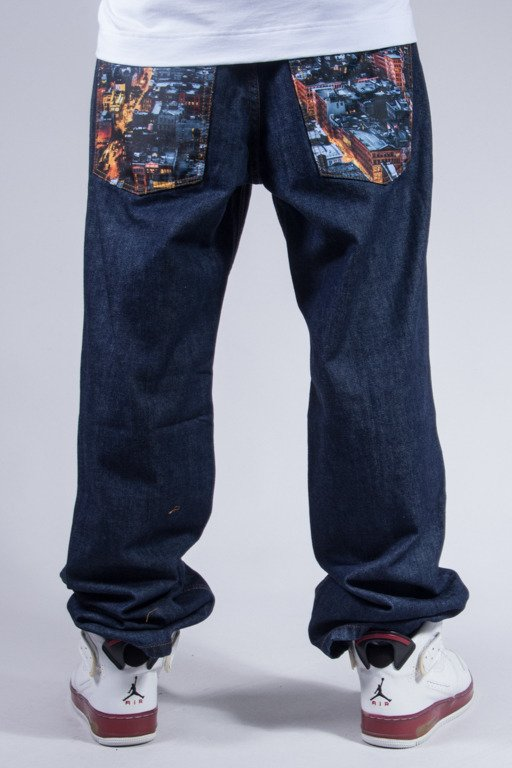 SSG JEANS REGULAR DARK CITY POCKET DARK