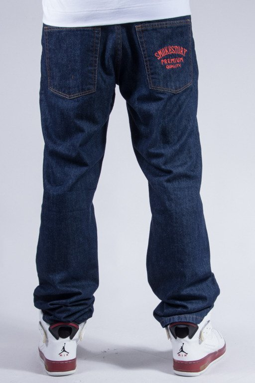 SSG JEANS SLIM SMOKESTORY DARK-RED