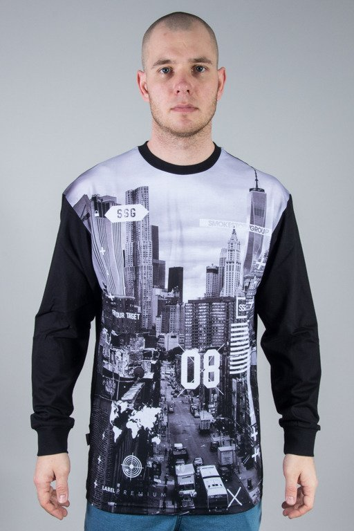 SSG LONGSLEEVE CITY BW BLACK