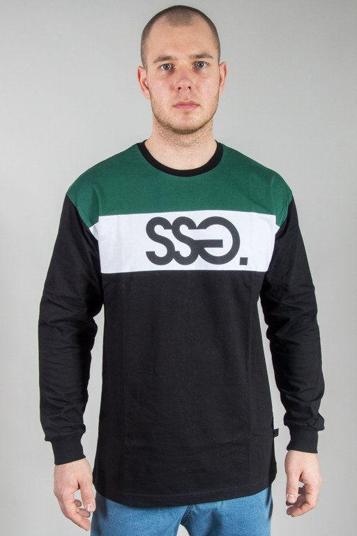 SSG LONGSLEEVE COLORS BLACK-GREEN