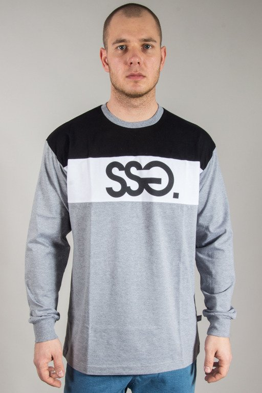SSG LONGSLEEVE COLORS GREY-BLACK