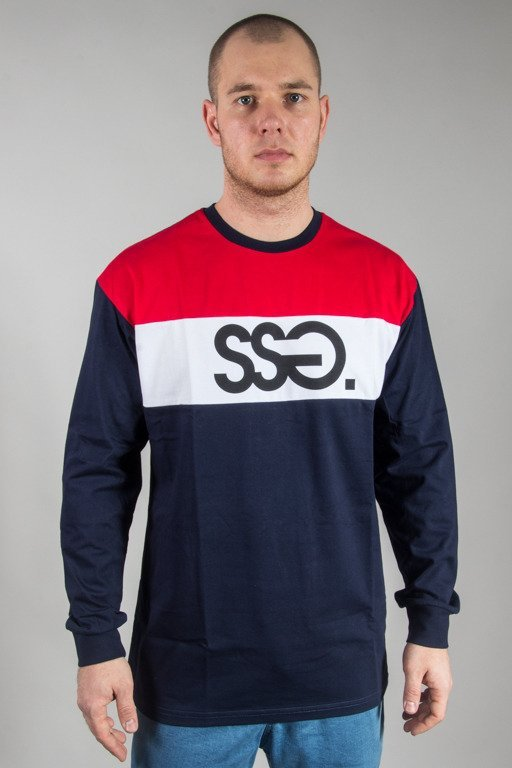 SSG LONGSLEEVE COLORS RED-NAVY