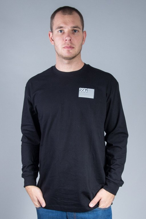 SSG LONGSLEEVE FLAG BLACK
