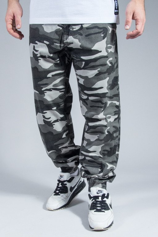 SSG PANTS CHINO JOGGER MORO NEW REGULAR GREY CITY CAMO
