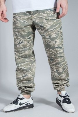 SSG PANTS CHINO JOGGER REGULAR PIXEL GREY MORO