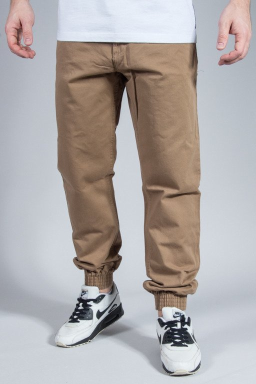 SSG PANTS CHINO JOGGER SLIM FULL ROSE BEIGE