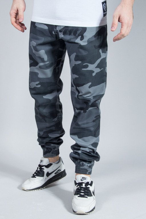 SSG PANTS CHINO JOGGER SLIM GREY CAMO