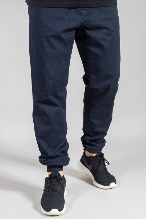 SSG PANTS CHINO JOGGER SLIM KLASYK NAVY