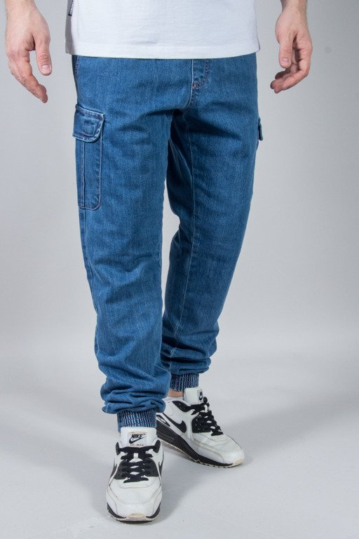 SSG PANTS JEANS JOGGER PREMIUM BOJÓWKI REGULAR LIGHT