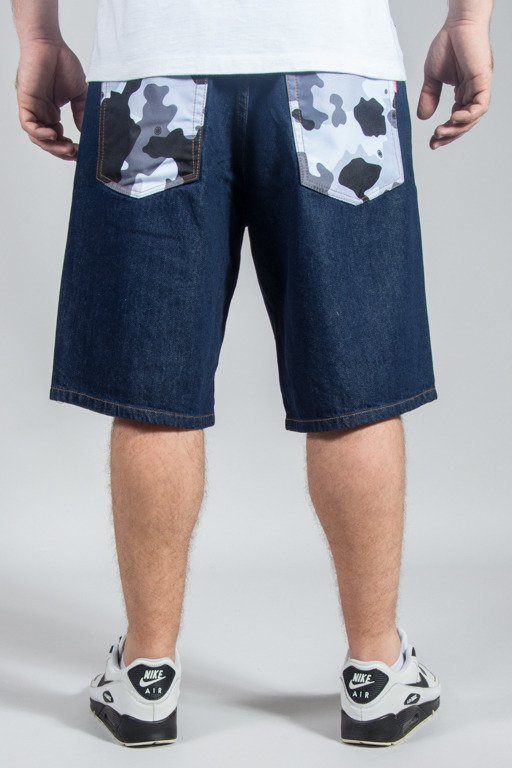 SSG SHORTS JEANS GREY MORO POCKET DARK