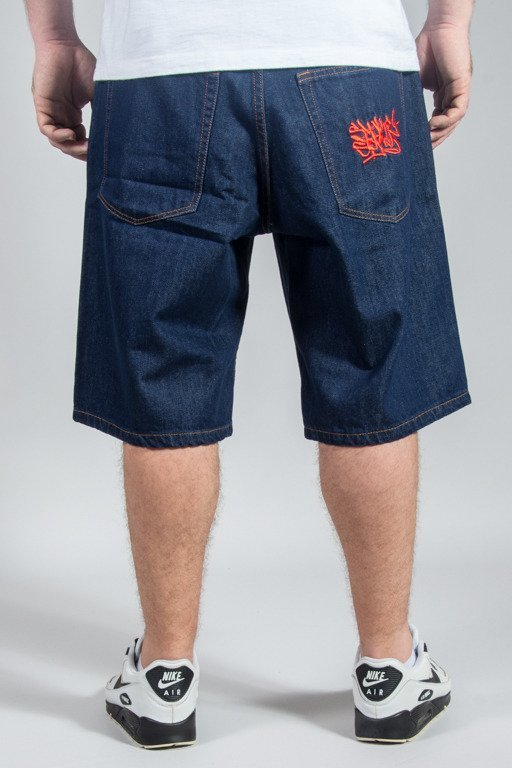 SSG SHORTS JEANS REGULAR SMOKE TAG DARK