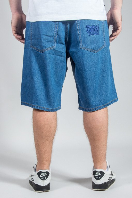 SSG SHORTS JEANS REGULAR SMOKE TAG LIGHT