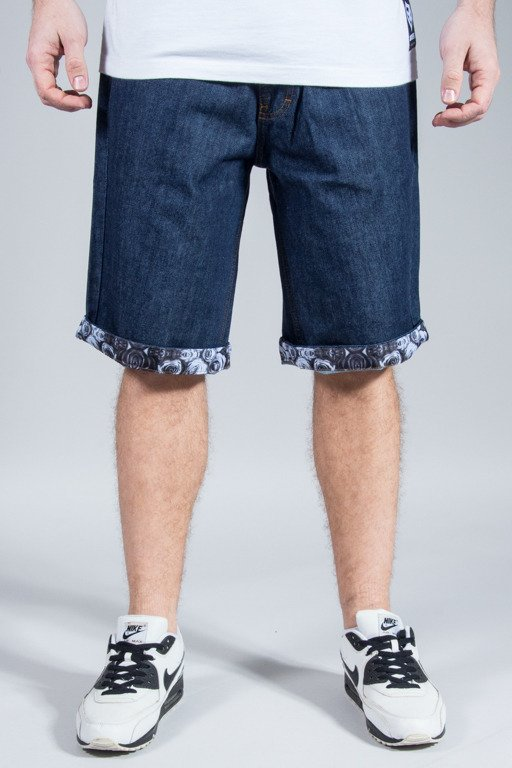 SSG SHORTS JEANS ROSE NOGAWKI DARK