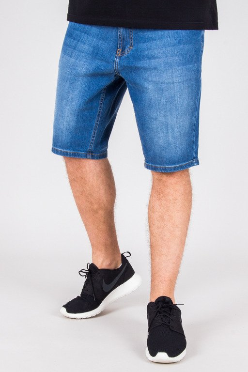 SSG SHORTS JEANS WYCIERANE LIGHT