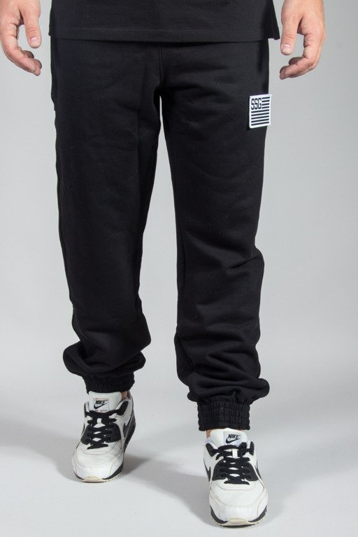 SSG SWEATPANTS JOGGER FLAG BLACK