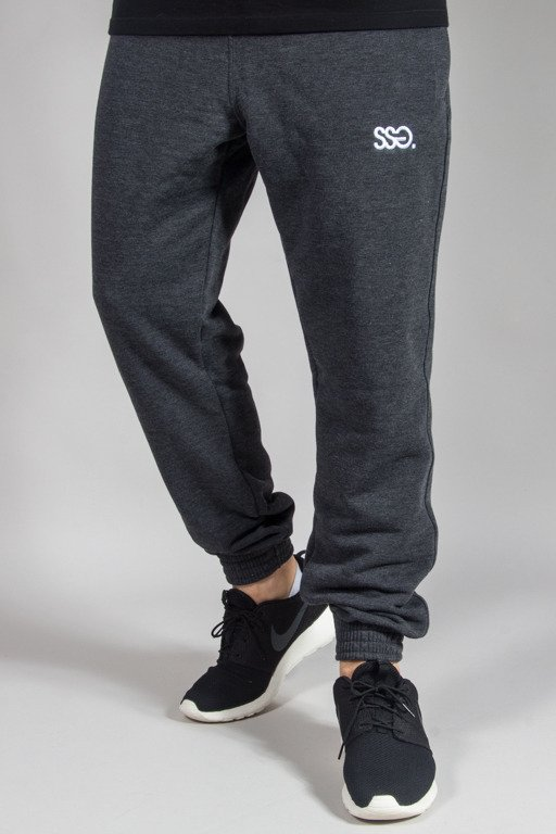 SSG SWEATPANTS JOGGER LIGHT MEANGE GRAPHITE