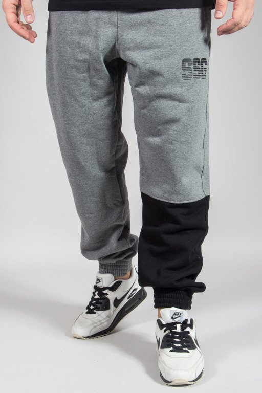 SSG SWEATPANTS JOGGER ONE SIDE GREY